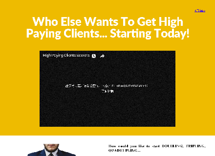 The Secret Of High Paying Clients Coupon Code