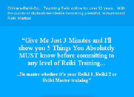 Ultimate Online Reiki Package Coupon Code