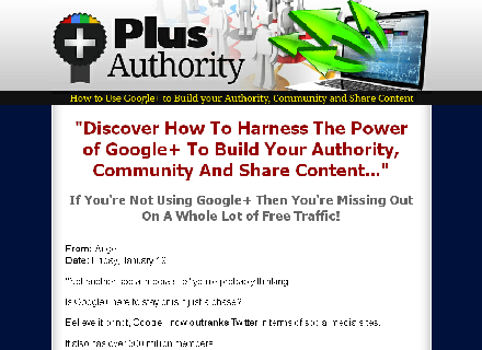 How To Use Google+ To Build Your Authority Coupon Code