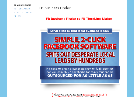 FB Business Finder Coupon Code