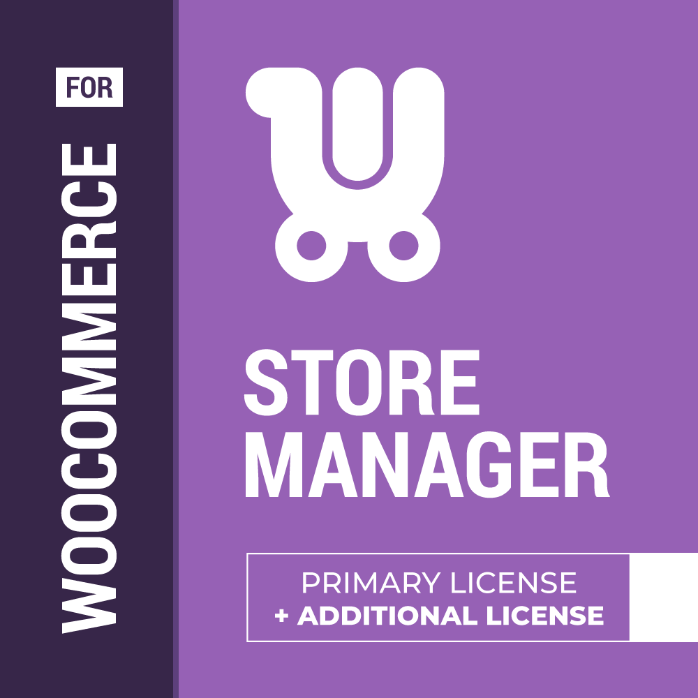 Store Manager for WooCommerce, 1 Primary License + 1 Additional license promo code
