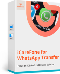 iCareFone for WhatsApp Transfer Coupon Codes